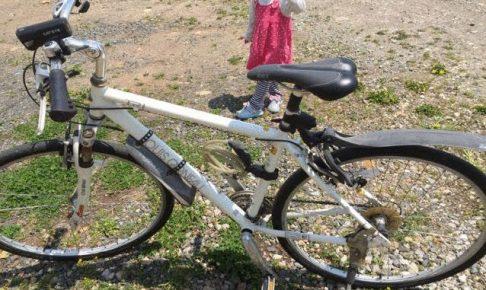 私のクロスバイク