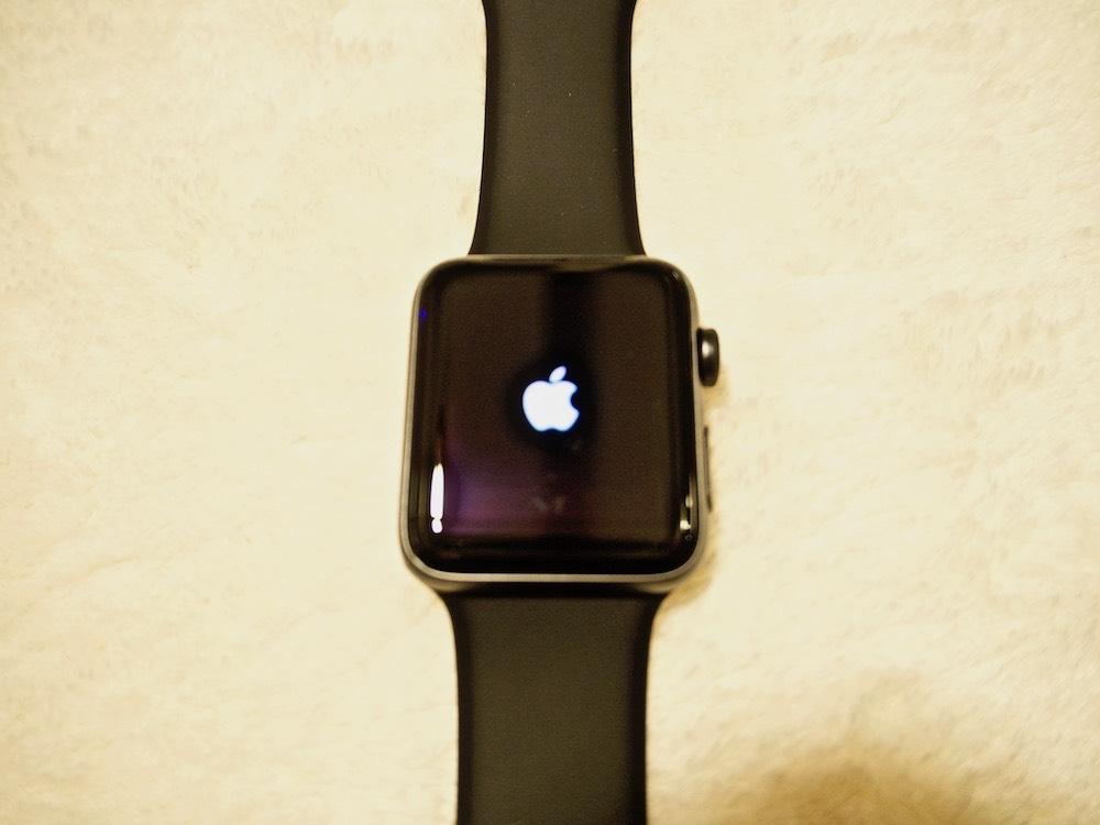 AppleWatch電源on